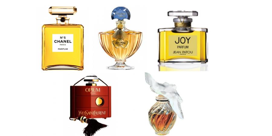 TOP 5 parfémů